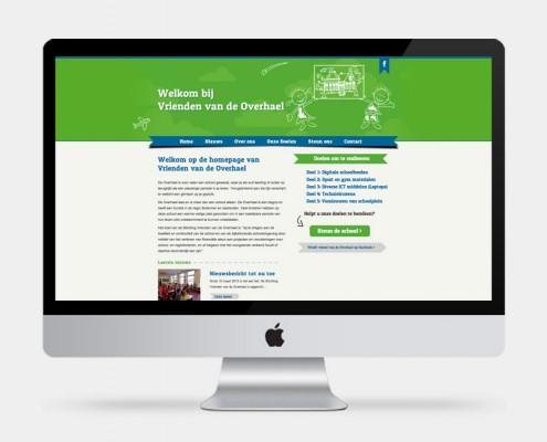WordPress website Stichting Vrienden van De Overhael