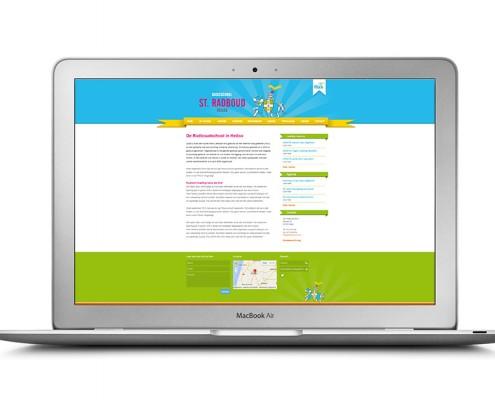 Website voor Basisschool Radboud in Heiloo