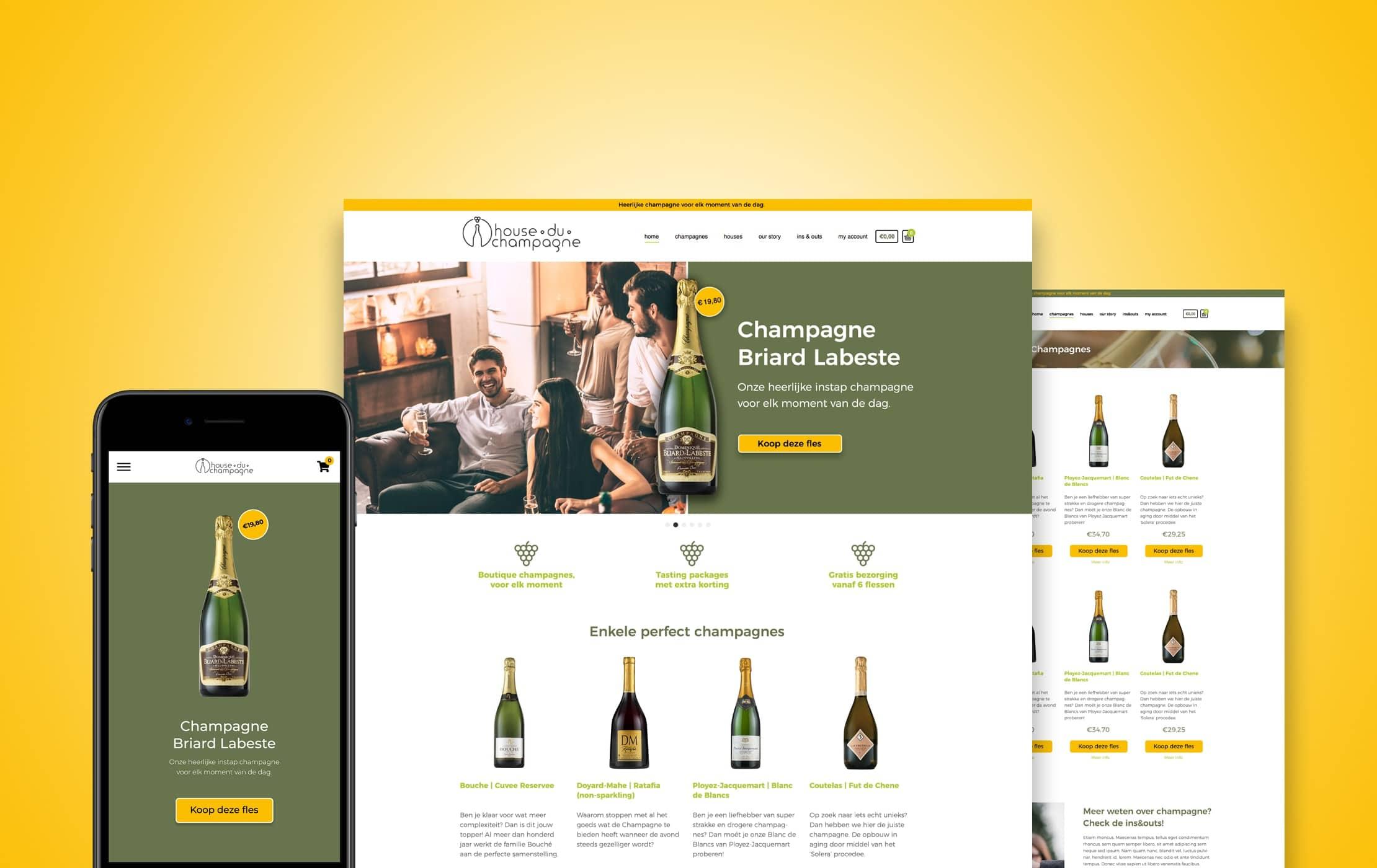 woocommerce_webshop_house_du_champagne_responsive_dreamlab_portfolio
