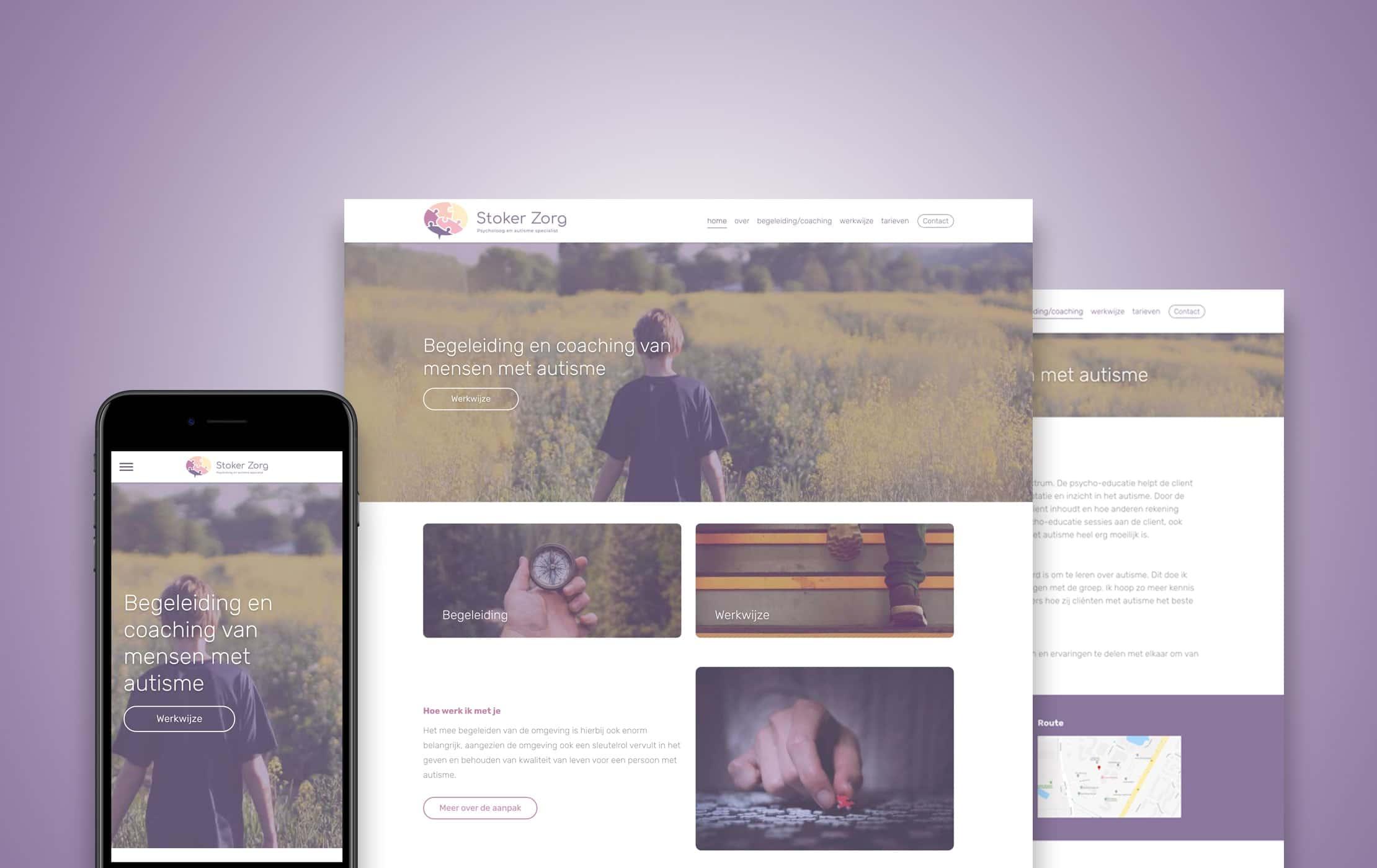 wordpress_website_stoker_zorg_dreamlab_portfolio