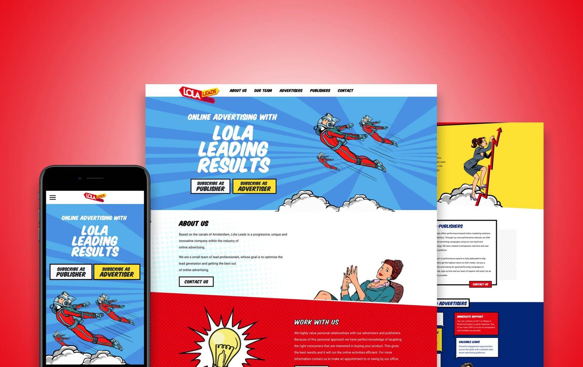 wordpress_website_lola_leads_dreamlab_portfolio